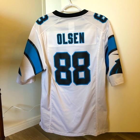 Nike Carolina Panthers Greg Olsen jersey